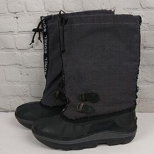 Sorel Vtg Winter Boots 8 Black